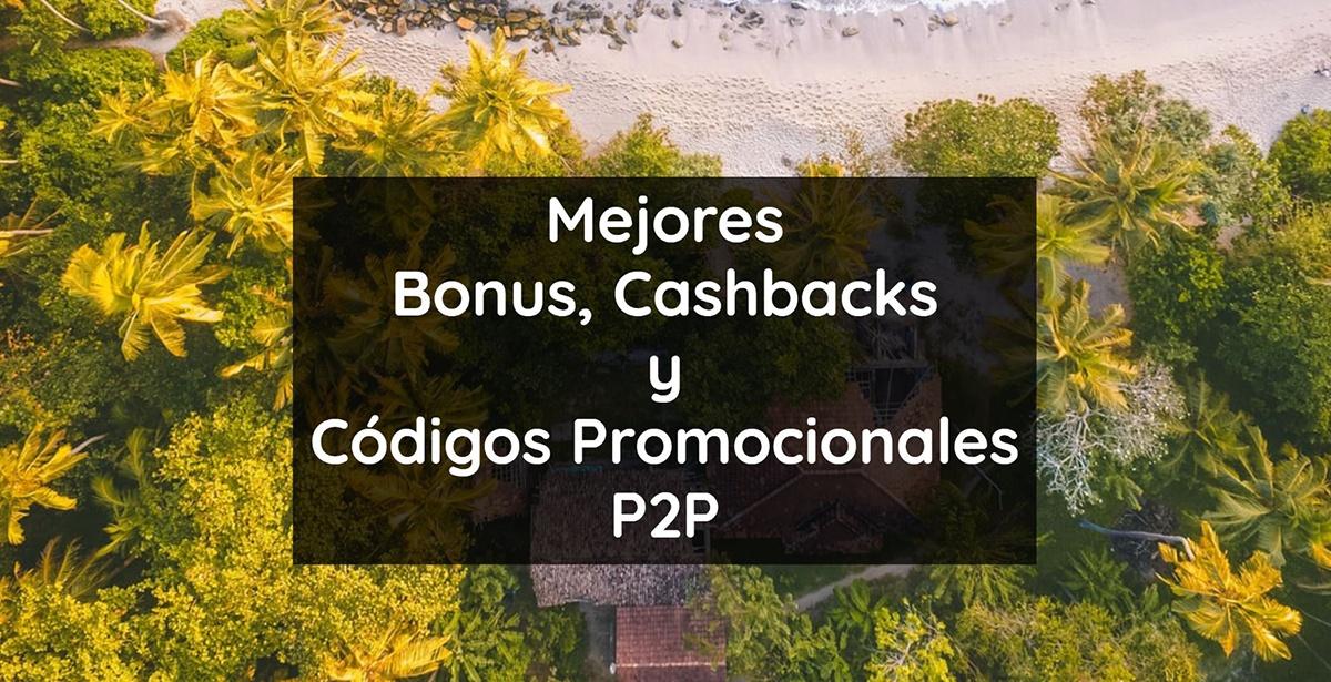 bonus, cashback y codigo promocional crowdlending